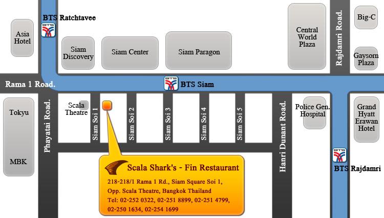 Location Map Scala Shark Fin ::